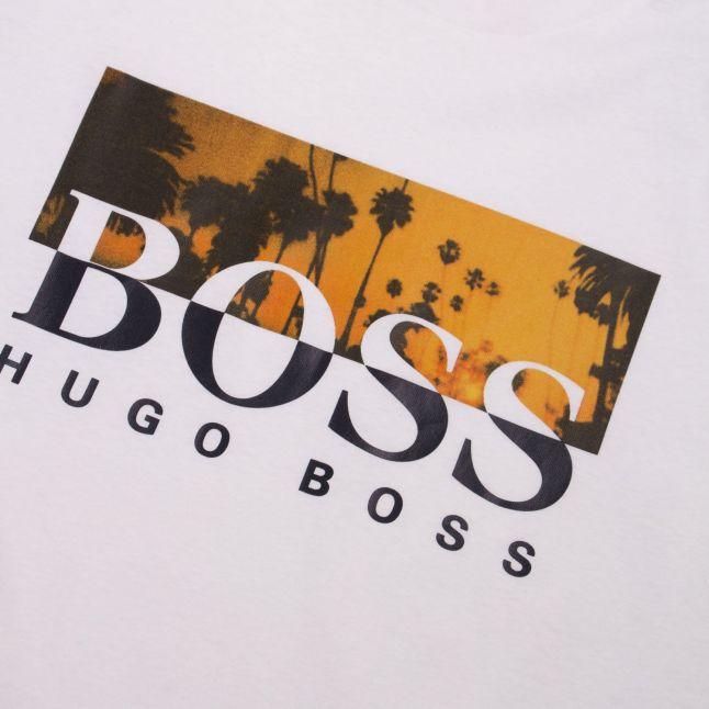 Casual Mens White Tsummer 6 S/s T Shirt