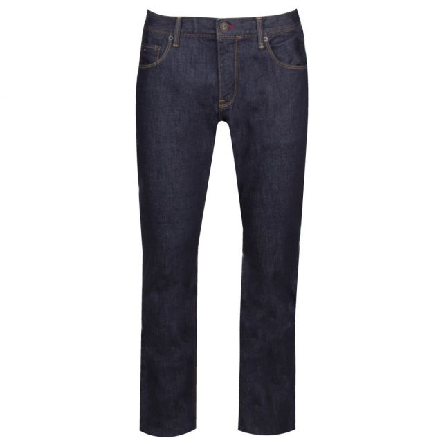 Mens New Clean Rinse Denton Straight Fit Jeans