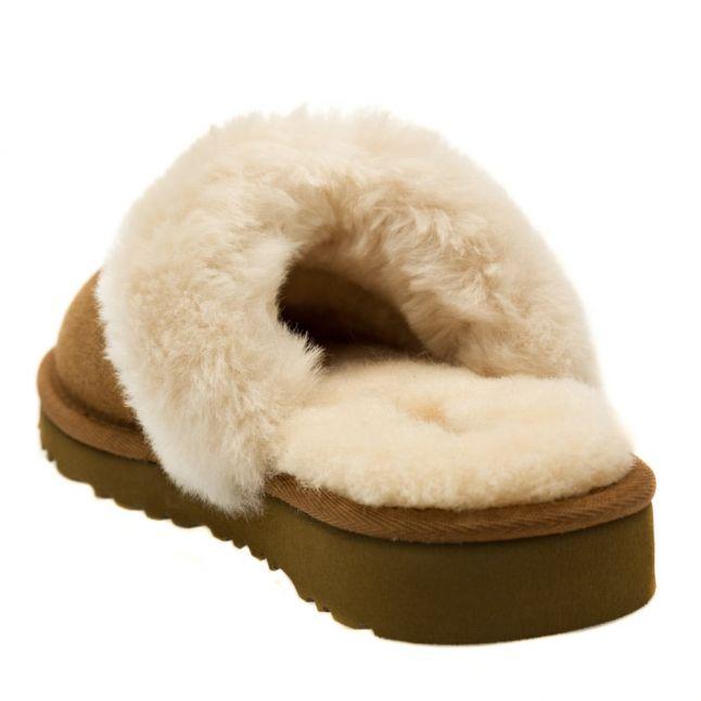 Kids Chestnut Cozy Slippers (9-3)