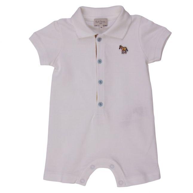 Baby White Nunzio Romper