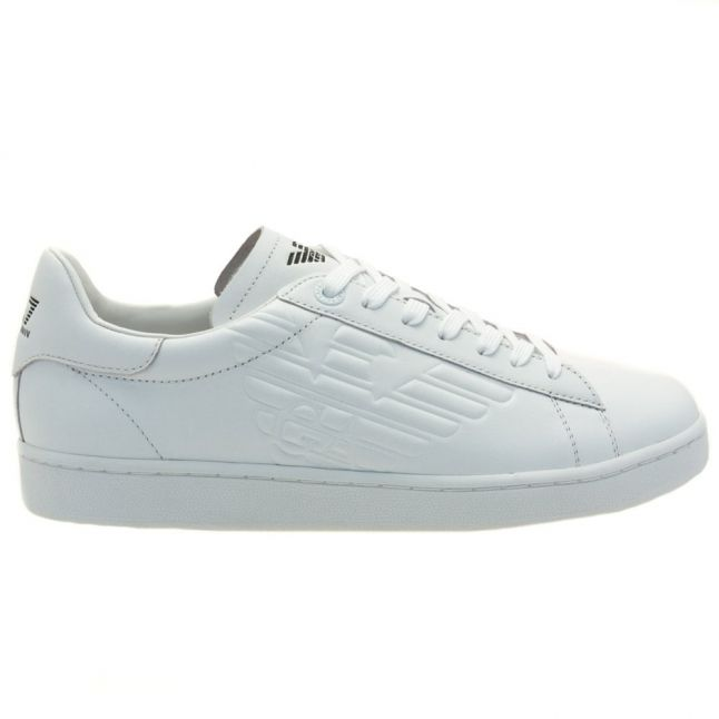 Mens White New Classic Trainers