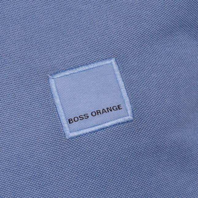 Mens Navy Pascha S/s Polo Shirt