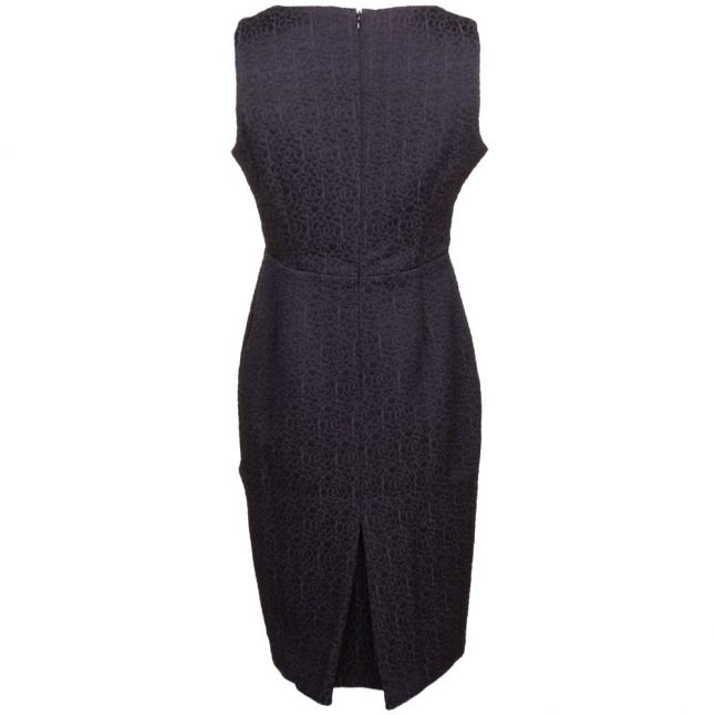 Womens Black Orla Fitted Dress