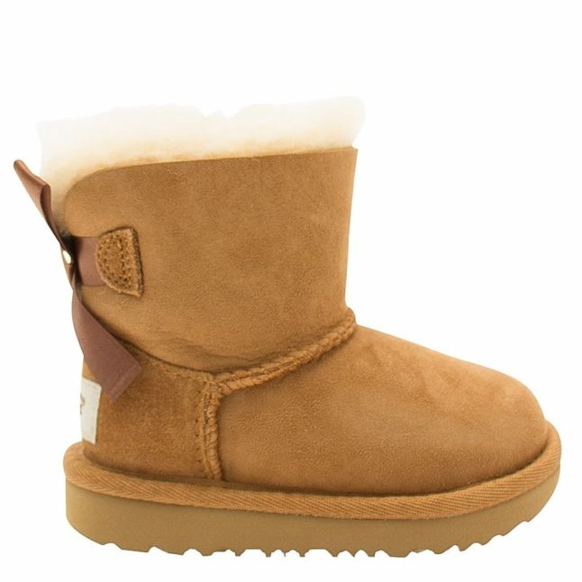 Toddler Chestnut Mini Bailey Bow II Boots (5-11)