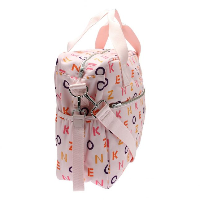 Girls Pink Branded Logo Changing Bag