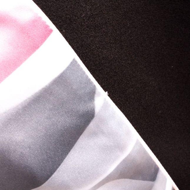 Womens Black Aurore Wrap Coat