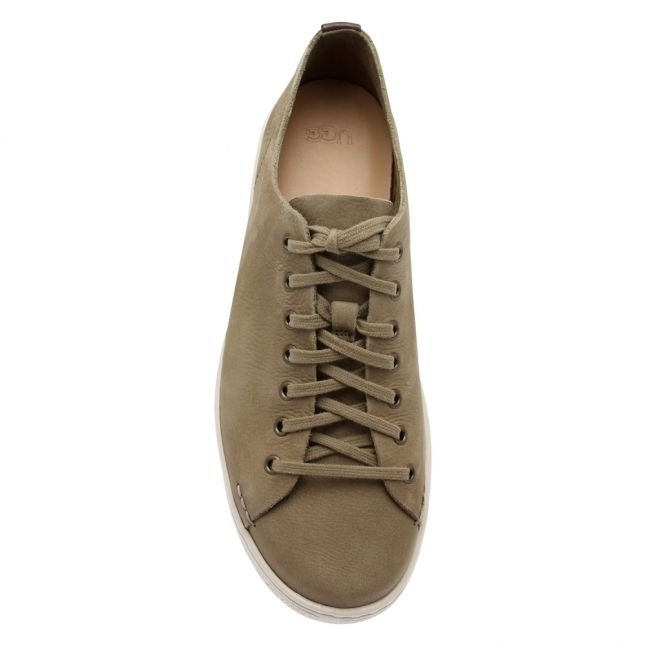 Mens Taupe Pismo Low Trainers