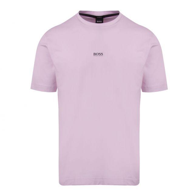 Casual Mens Pink Tchup Centre Logo S/s T Shirt