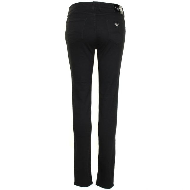 Womens Black J28 Skinny Fit Jeans