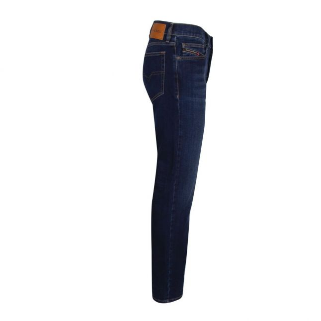 Mens 009ML Wash D-Mihtry Straight Fit Jeans