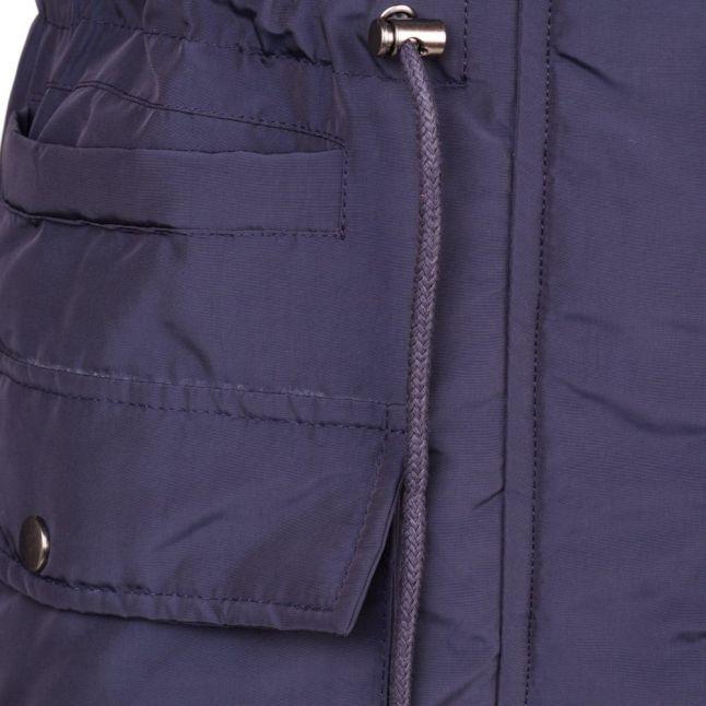Womens Navy Blazer Yascalvein Parka Coat
