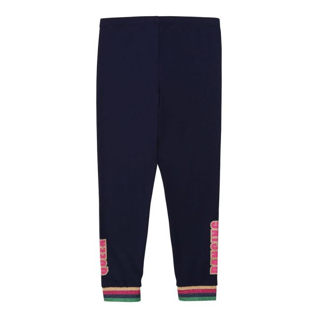Girls Navy Dancing Leggings