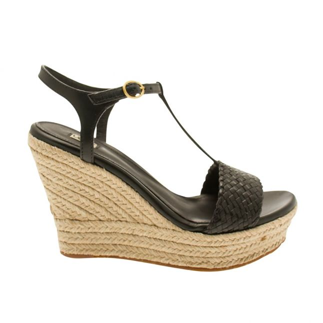 Womens Black Fitchie II Wedges