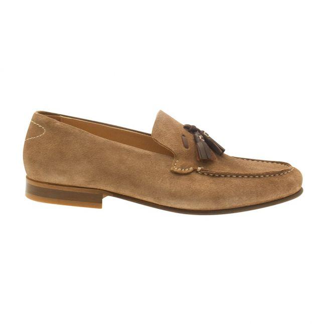 Mens Tobacco Bernini Suede Shoe