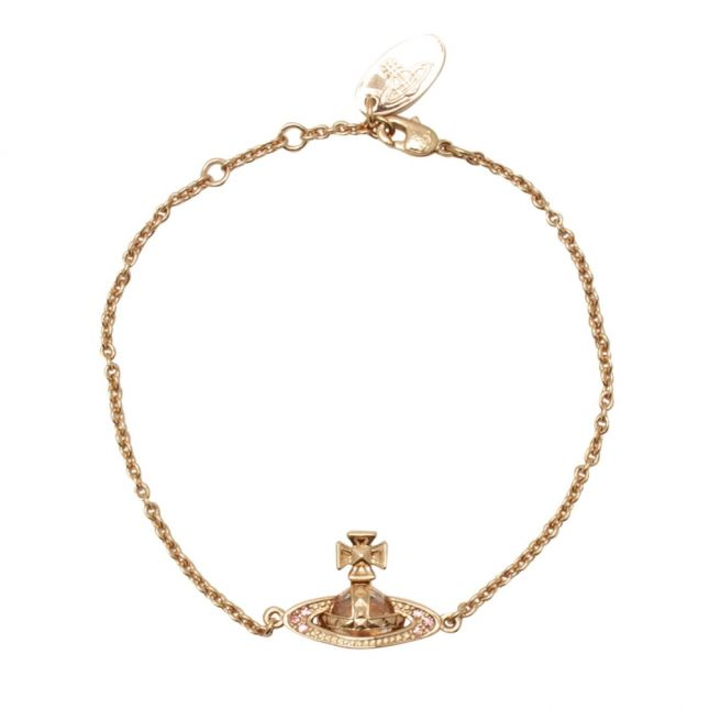 Womens Light Rose Pina Bas Relief Bracelet