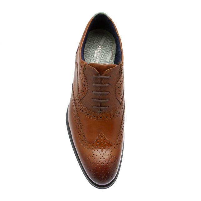 Mens Tan Mittal Brogues