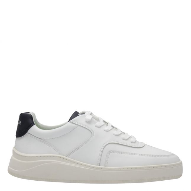 Mens White/Navy Lowtop 4.0 Vegan Trainers