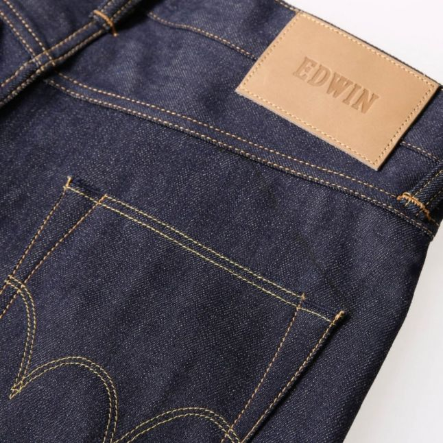 Mens Unwashed Ed55 Relaxed Tapered Fit 63 Rainbow Selvage Jeans