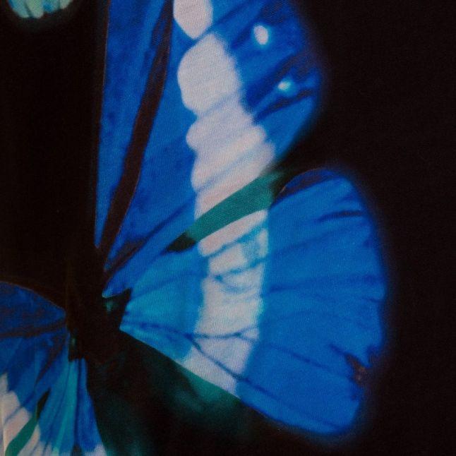 Womens Black Flutor Butterfly Collective S/s Tee Shirt