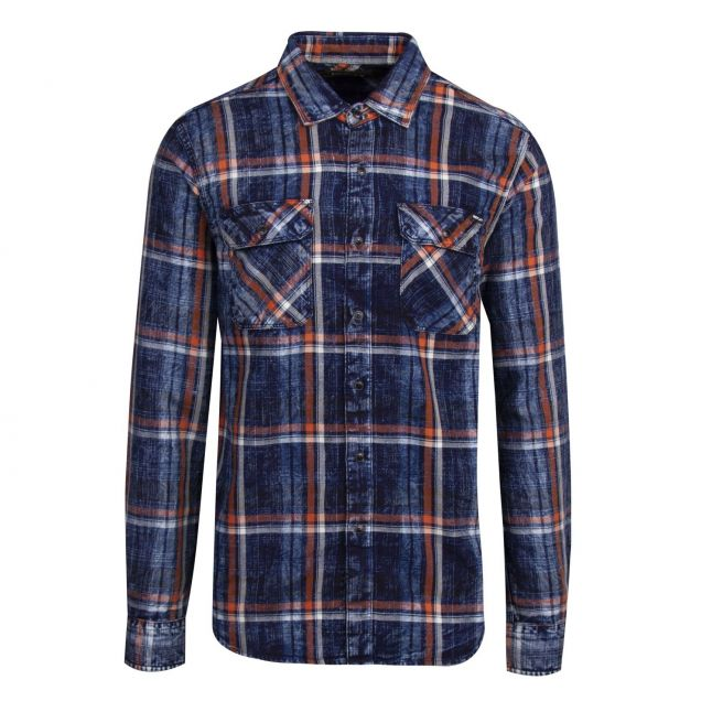 Mens Carbon Check L/s Shirt