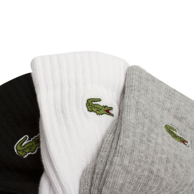 Mens Assorted 3 Pack Sports Socks