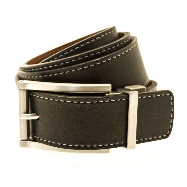 Mens Black & Tan Bream Reversible Belt