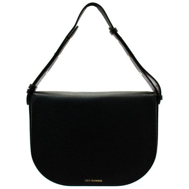 Womens Black Rosie 50:50 Lip Medium Shoulder Bag