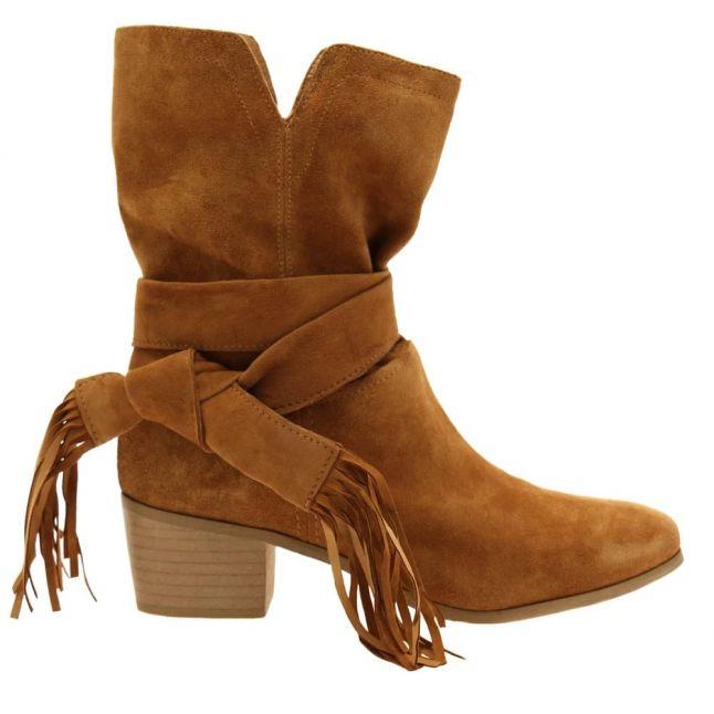 Womens Tan Grandior Boots
