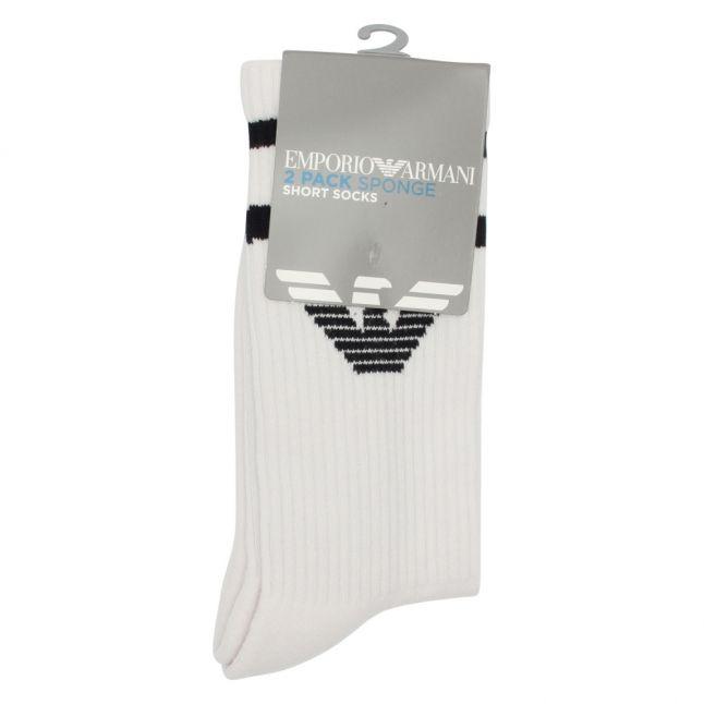 Mens White Eagle Sport Socks