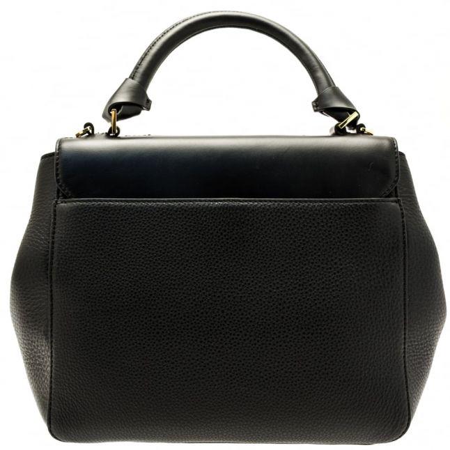 Womens Black Chantel Large Trapeze Tote Bag