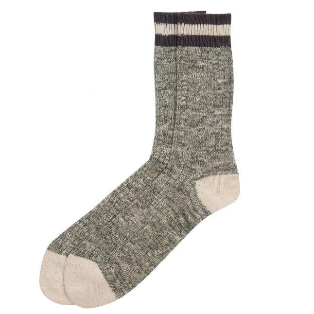 Mens Olive Shandwick Socks