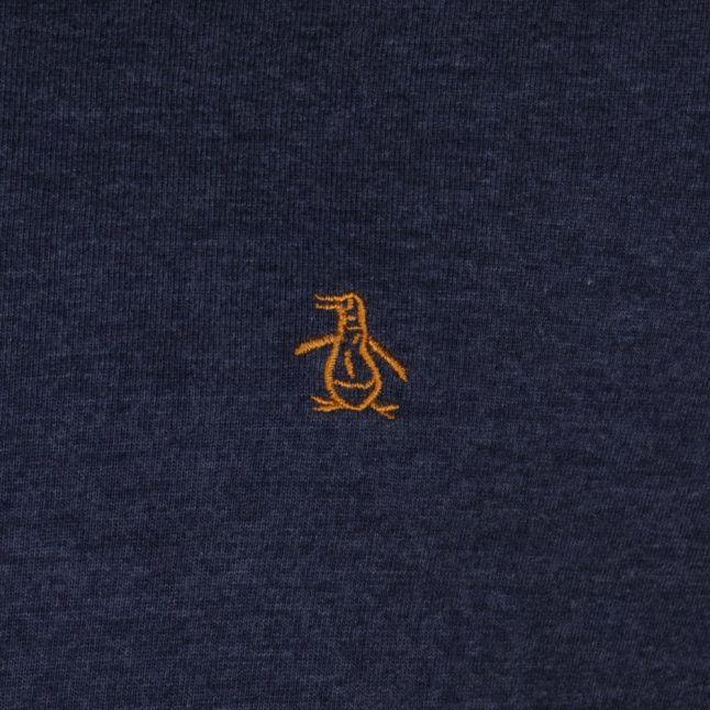 Mens Dark Sapphire Baseball L/s Tee Shirt