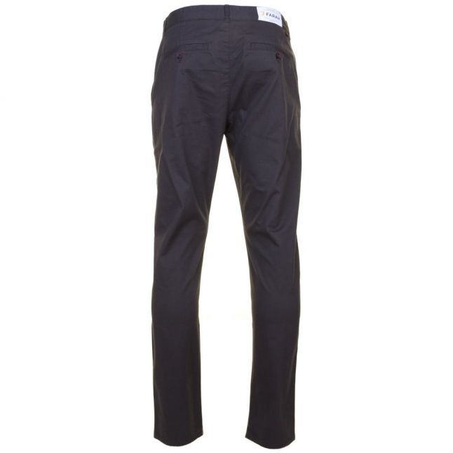 Mens Dark Grey Elm Twill Slim Fit Chino Pants