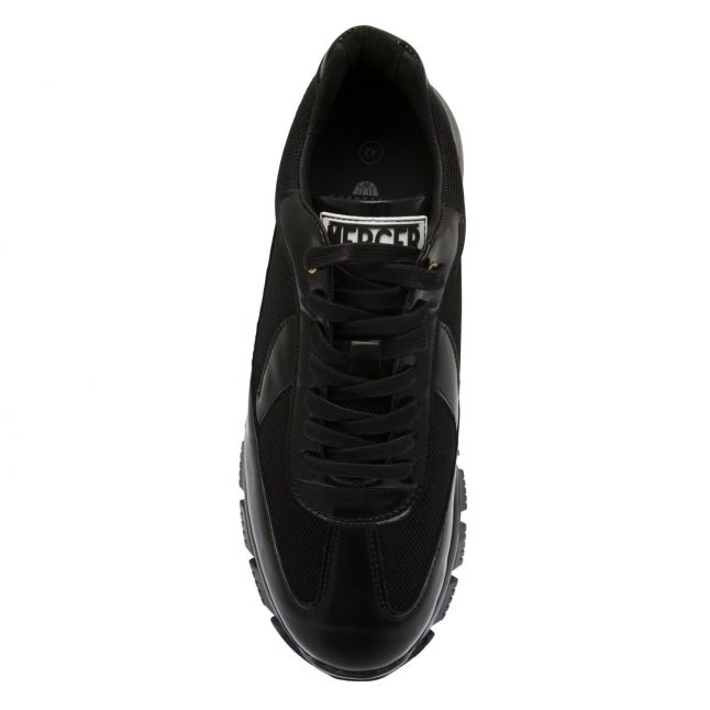 Mercer Mens Black Wooster 2.0 Trainers