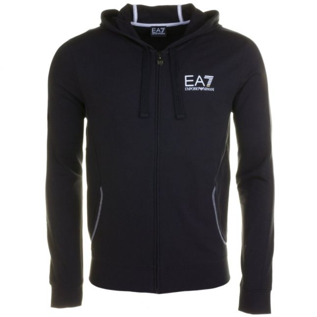 Mens Navy Training Core Identity Hooded Sweat Top