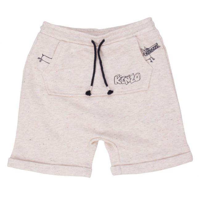 Baby Marled Sable Biloute Shorts