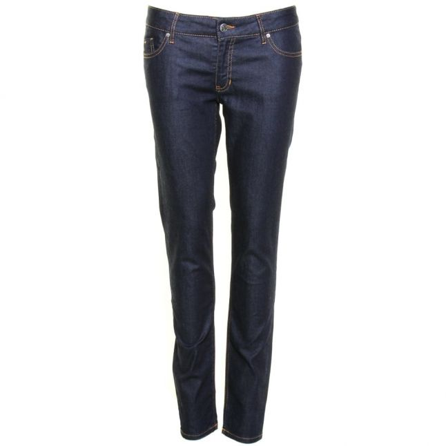 Womens Navy Wash J20 Skinny Fit Jeans