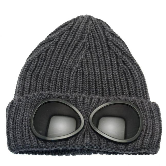Boys Grey Goggle Hat