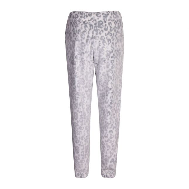 Womens White Leopard Betsy Lounge Pants