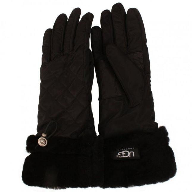 UGG ® Australia Fontanne Quilted Gloves in Black