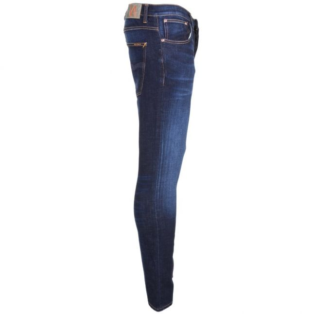 Mens Dark Sparkles Wash Grim Tim Slim Fit Jeans