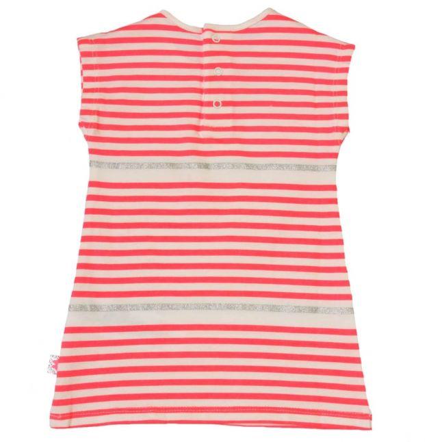 Baby Pink Striped Dress