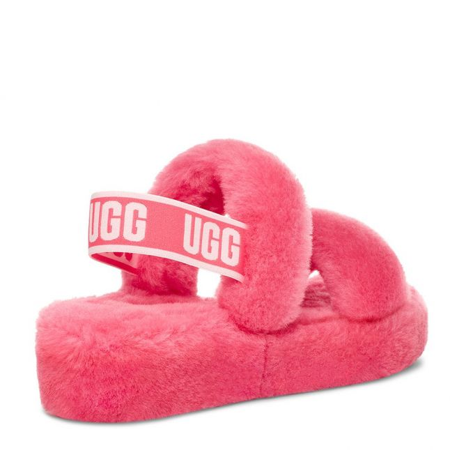 Womens Strawberry Sorbet Oh Yeah Slippers