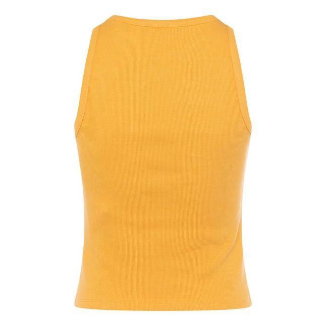 Womens Beeswax Orange Rasha Ribbed Tank Top
