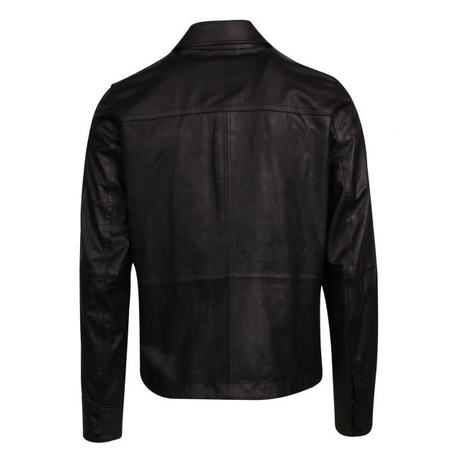 Casual Mens Black Jobean Leather Jacket