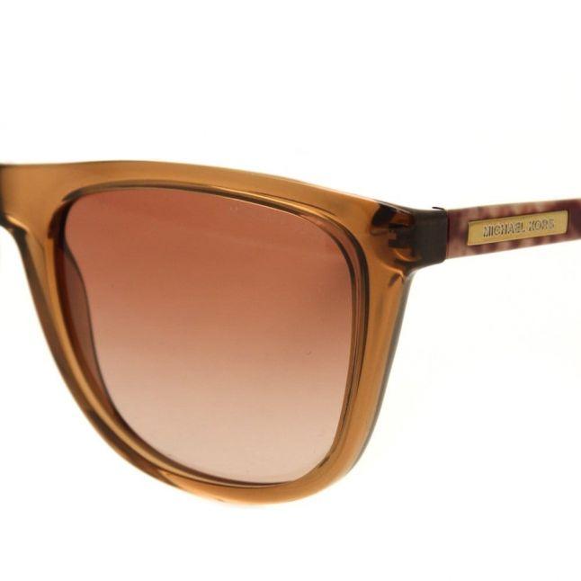 Womens Milky Brown Snake Algarve Sunglasses