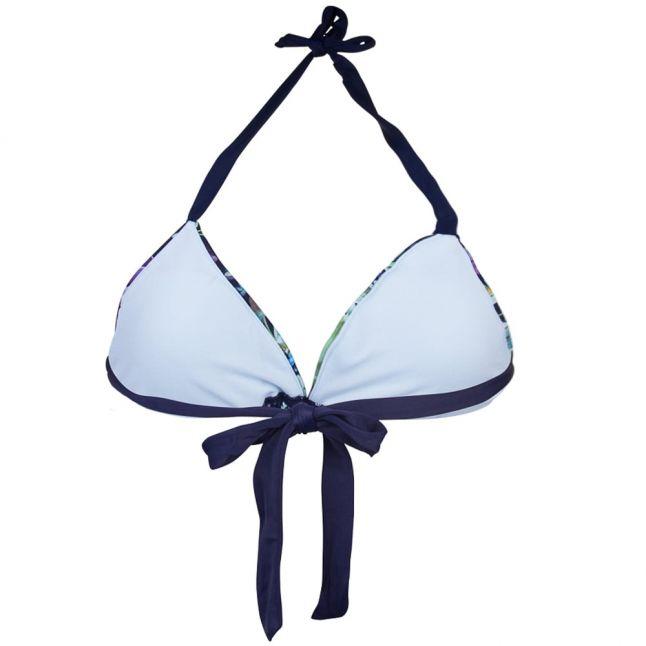 Womens Dark Blue Entangled Enchantment Syala Bikini Top