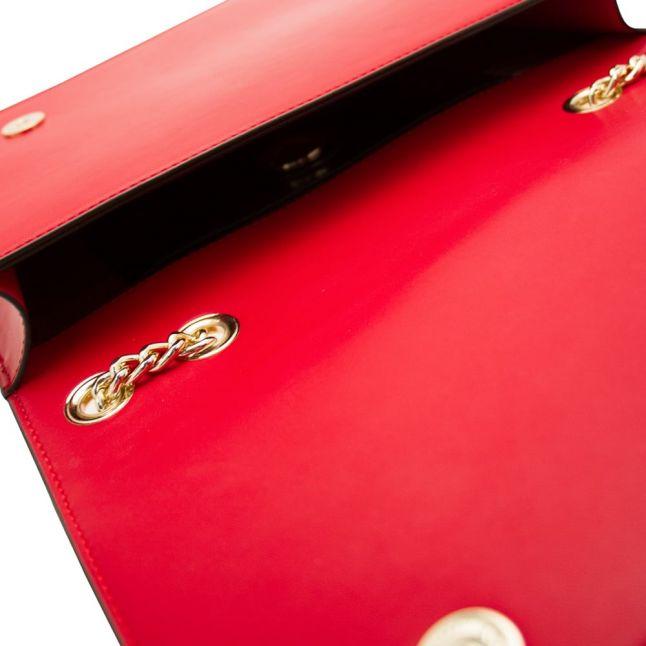 Womens Red Heart Shoulder Bag