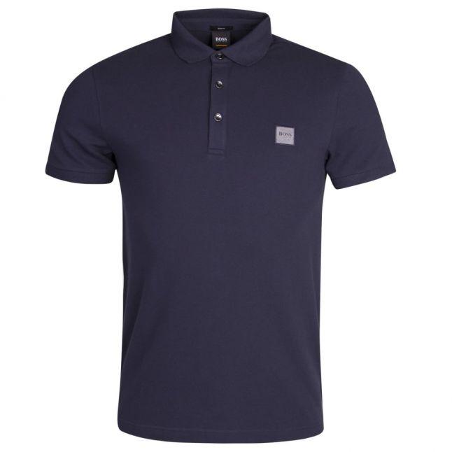 Casual Mens Dark Blue Passenger S/s Polo Shirt