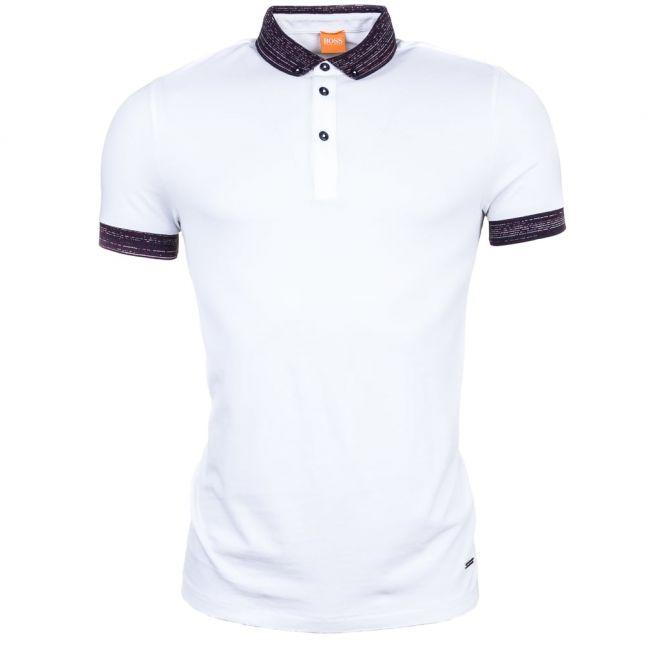 Mens White Pilipe S/s Polo Shirt